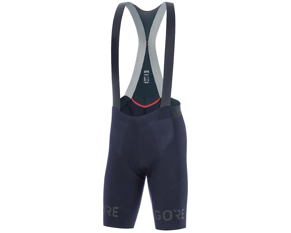 Gore Wear C7 Long Distance Bib Shorts+ (Orbit Blue) (M)