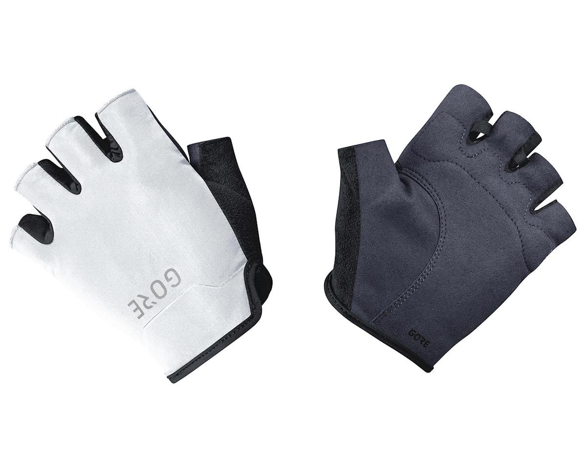 Gore Wear C3 Short Finger Gloves (Black/White) (L)