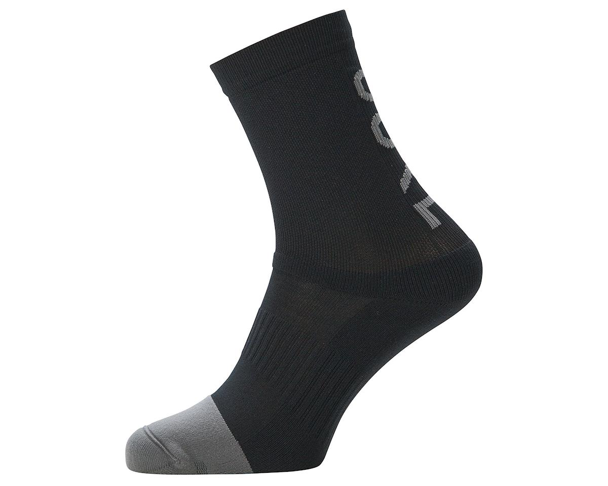 Image 1 for Gore Wear M Mid Brand Socks (Black) (S)