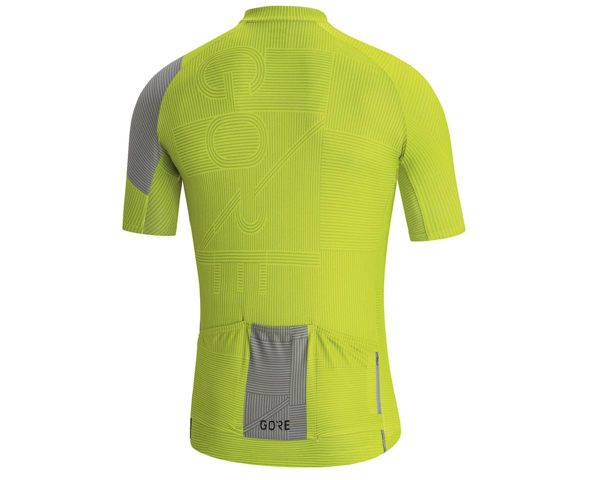 Image 2 for Gore Wear C3 Line Jersey (Citrus Green/Nordic Blue) (M)