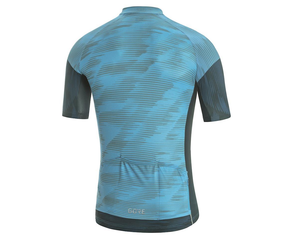 Image 2 for Gore Wear C3 Knit Design Jersey (Dynamic Cyan/Orbit Blue) (S)