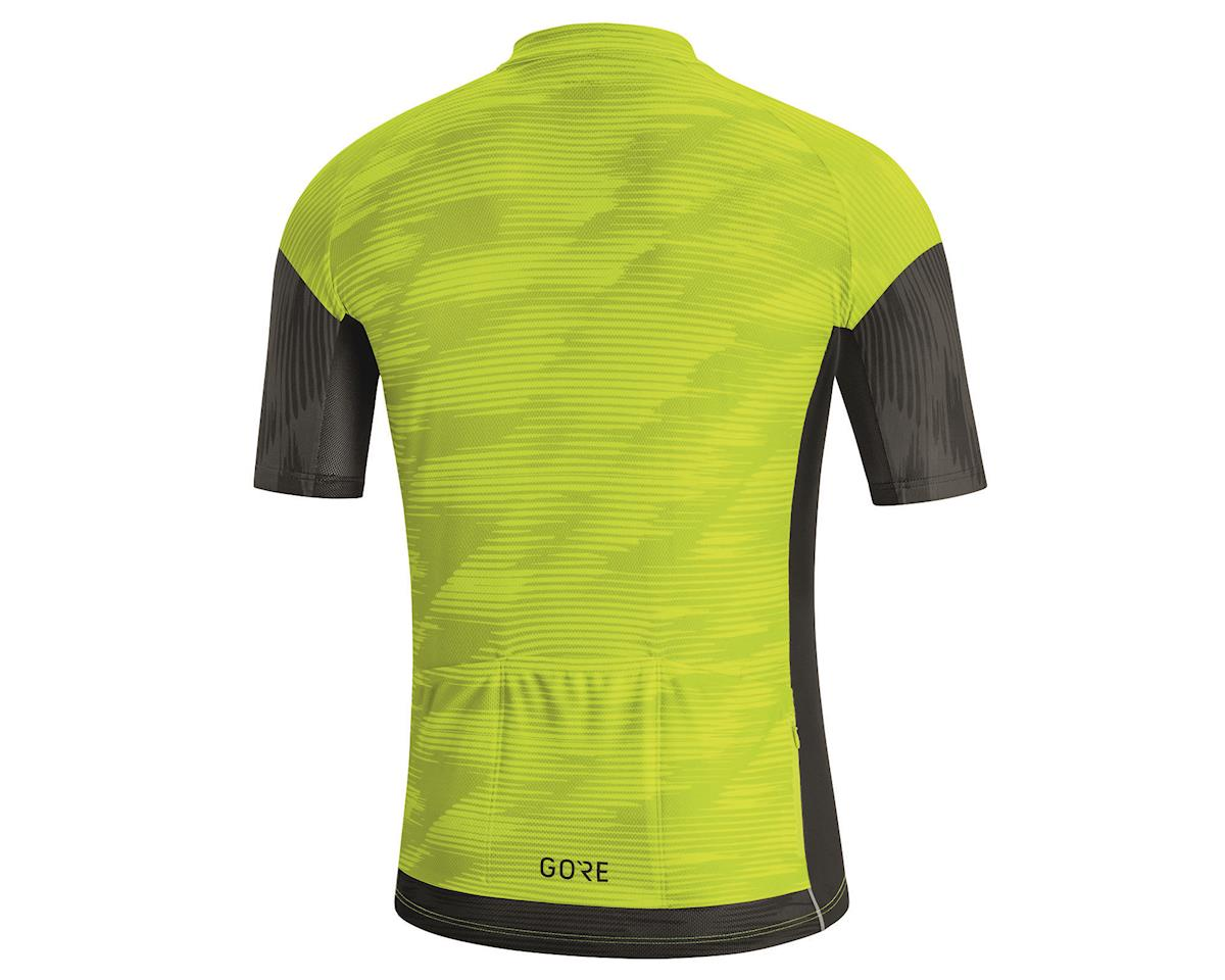 Image 2 for Gore Wear C3 Knit Design Jersey (Citrus Green/Black) (L)