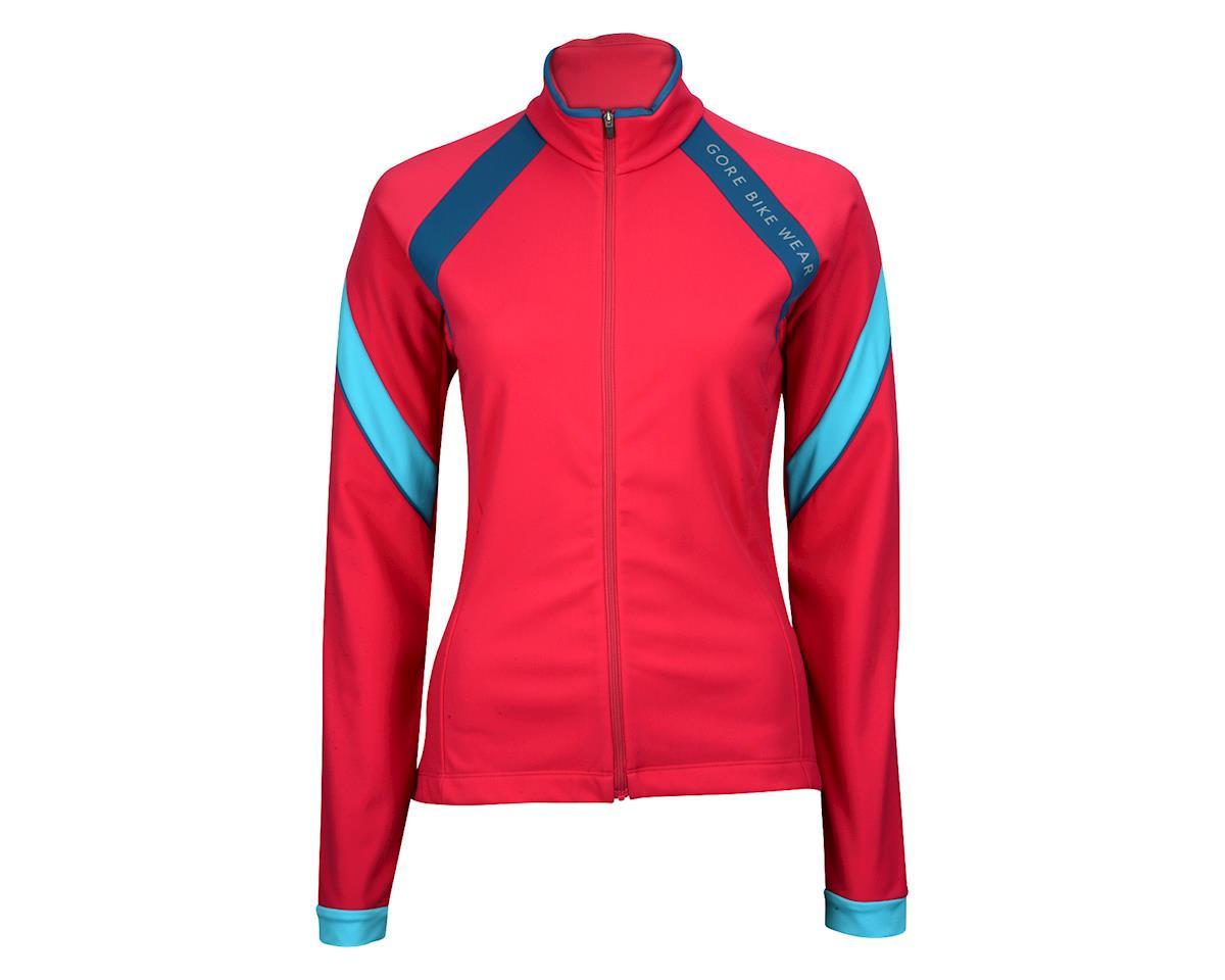 Gore Wear Women's Power 2.0 Thermo Lady Jersey (Blue/Pink)