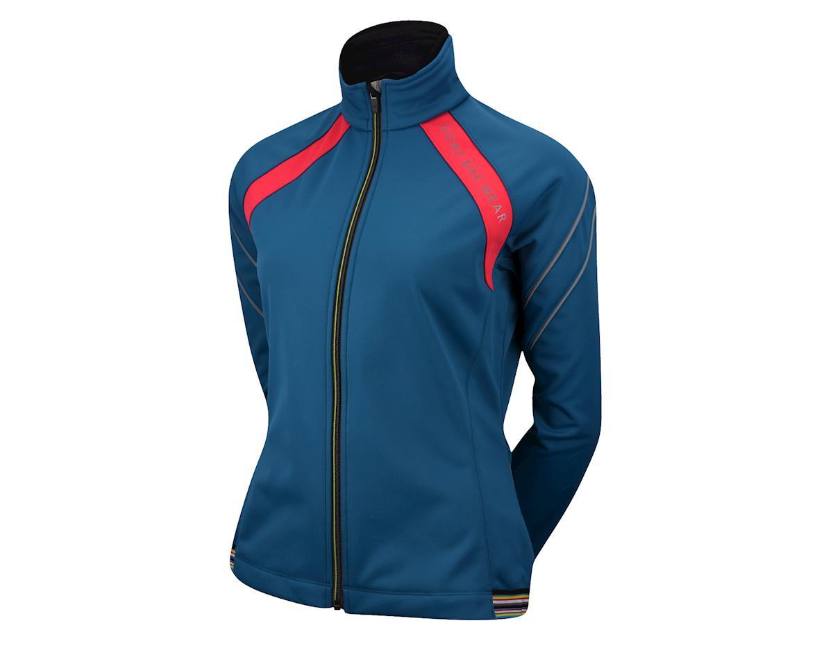 Gore Bike Wear Women s Power 2.0 Windstopper Soft Shell Jacket (Battleship  Blue)  11-4301-BTL-P  - Performance Bike bba2d6ce3