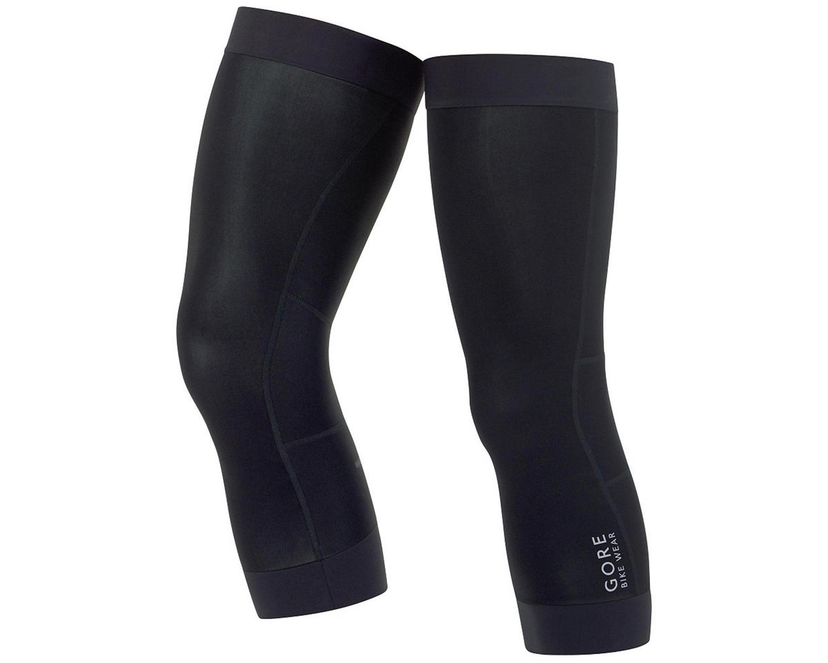 Gore Bike Wear Universal Windstopper Knee Warmers (Black) (L)