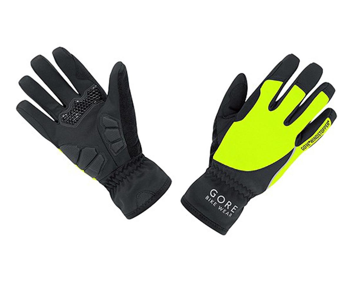 Power Lady Windstopper Gloves (Black/Neon Yellow)