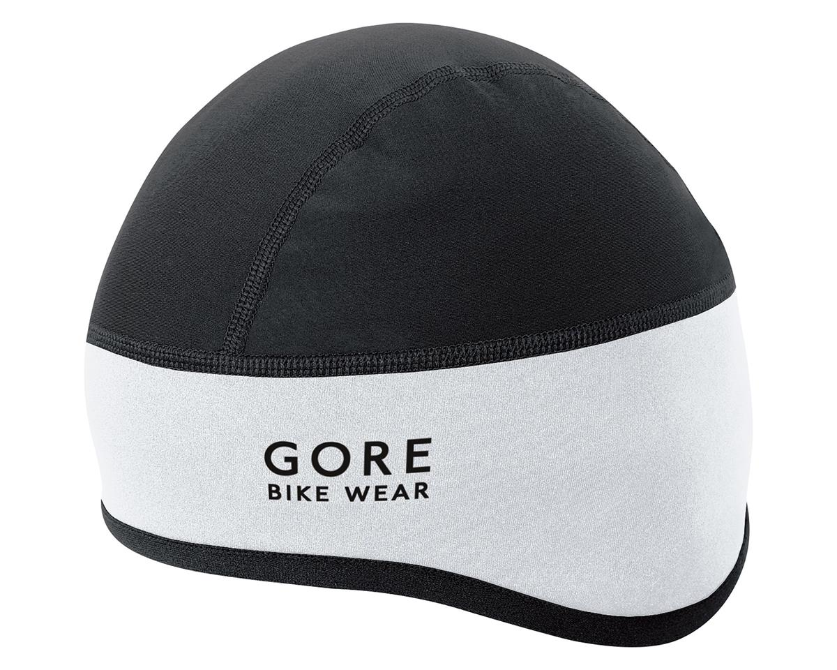 Universal Windstopper Helmet Cap (White/Black)