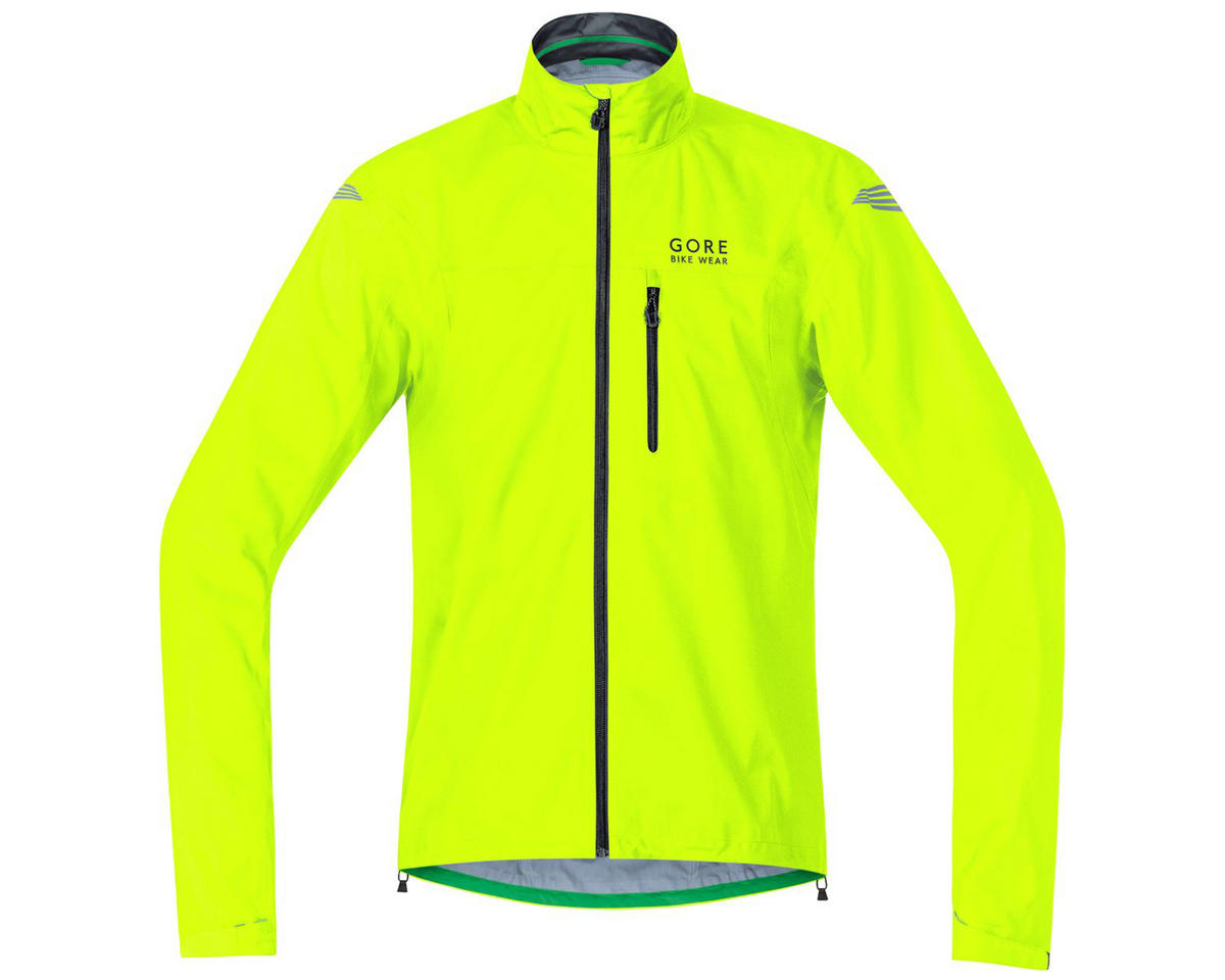Gore Element Gore-Tex Active Jacket (Neon Yellow) (M)