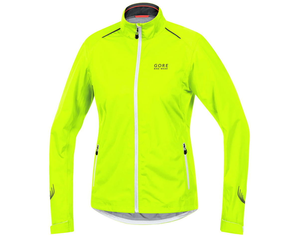 Gore Bike Wear Element Lady Gore-Tex Active Jacket (Neon Yellow/White/Black) (XS)