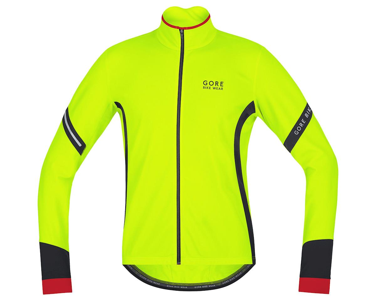 Gore Bike Wear Power 2.0 Thermo Jersey (Neon Yellow/Black) (XL)