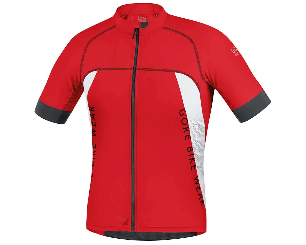 Alp-X Pro Cycling Jersey (Red/White)