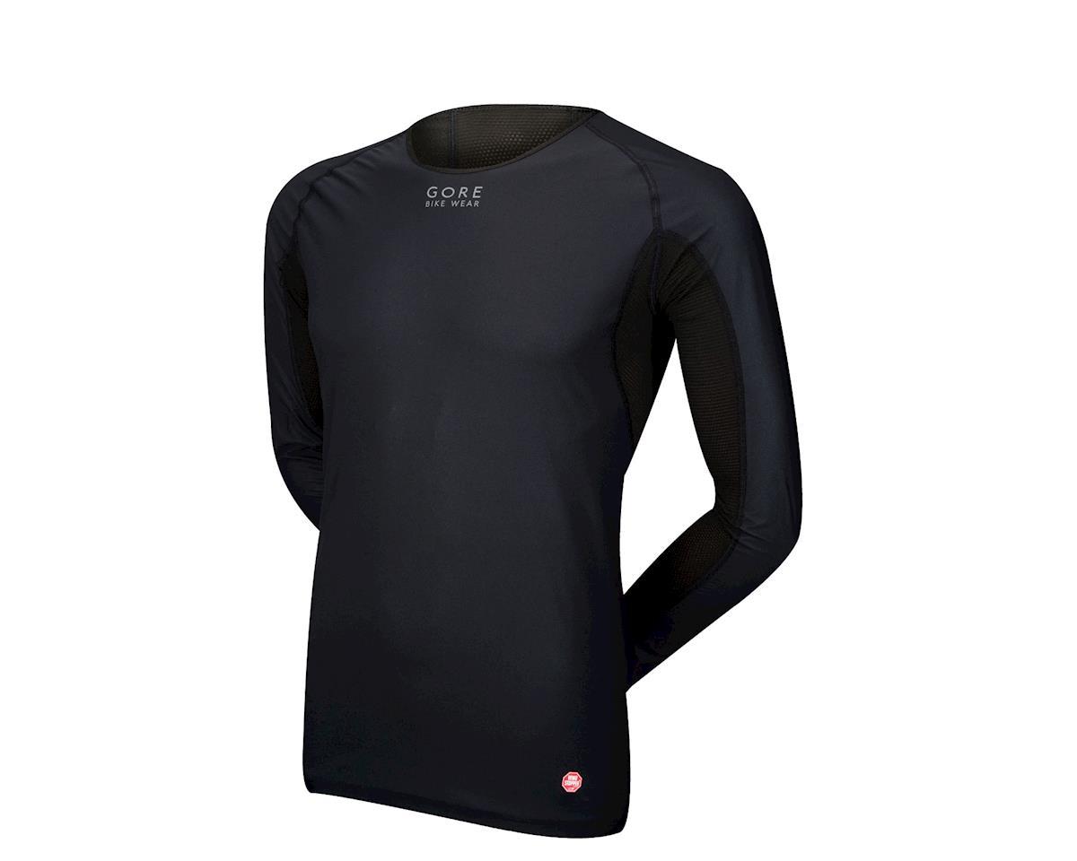 Gore Wear Windstopper Long Sleeve Baselayer (Black)