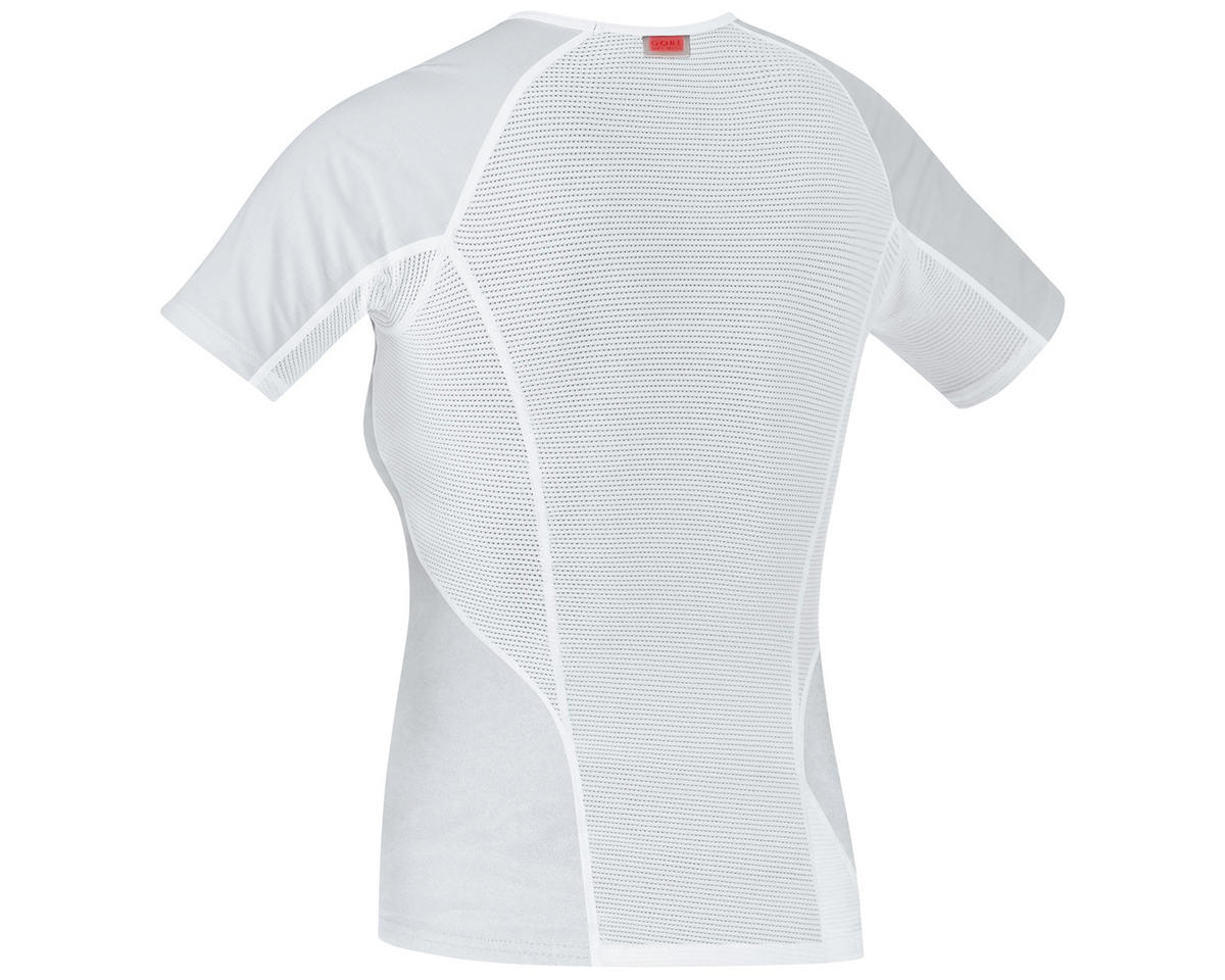 Gore Bike Wear Base Layer Windstopper Lady Shirt (Grey/White) (XS)