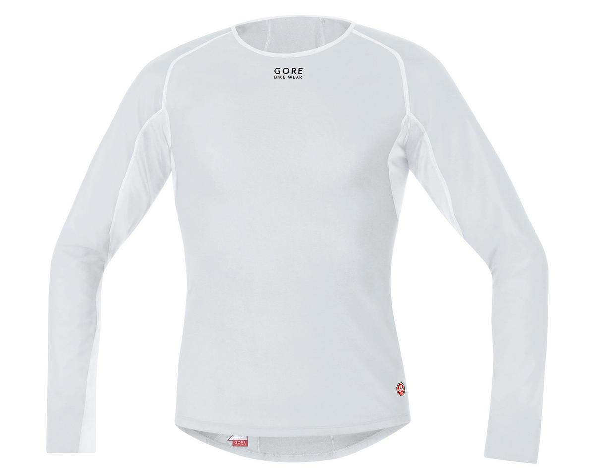 Gore Bike Wear Windstopper Base Layer Thermo Long Shirt (Light Grey) (M)