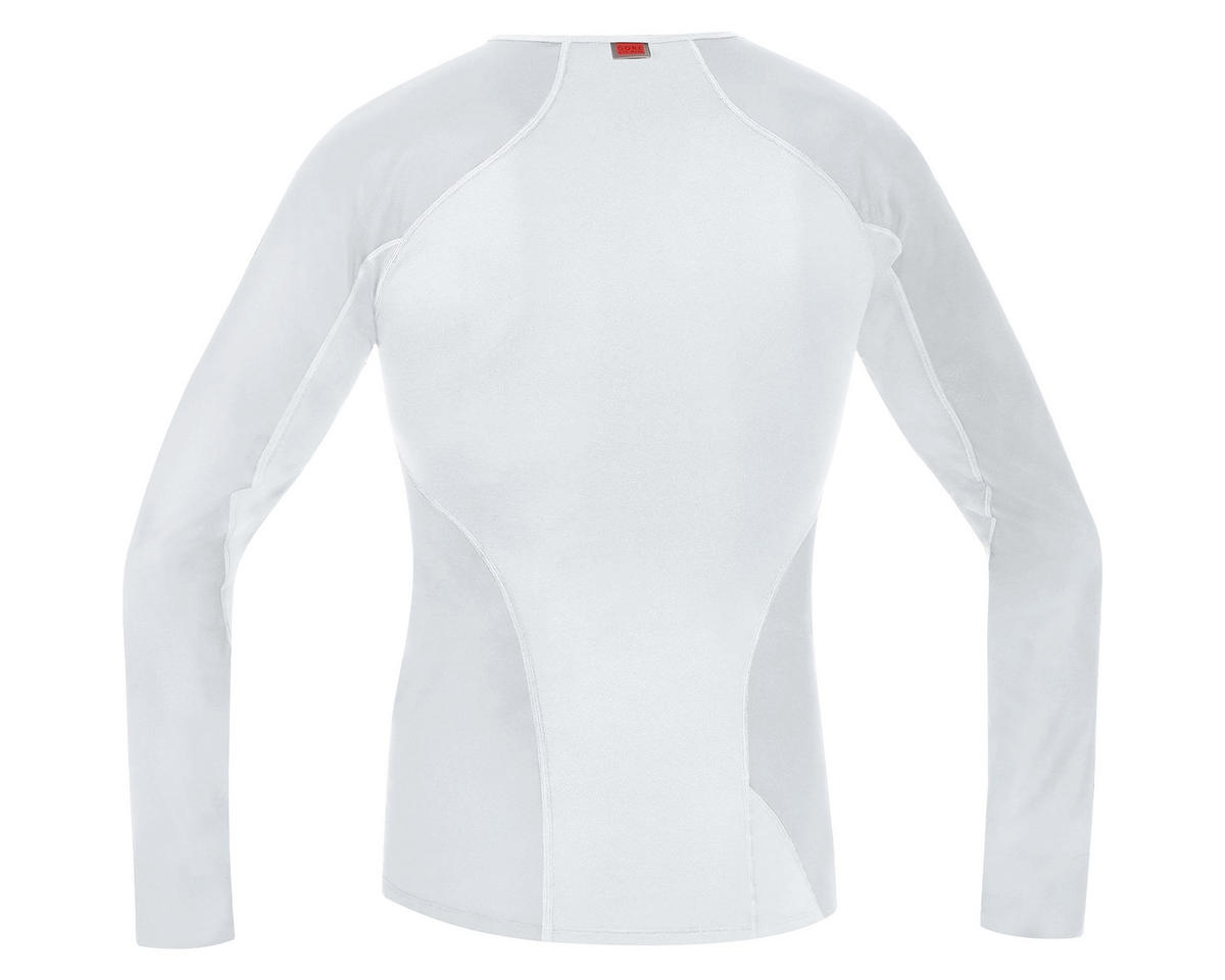Gore Windstopper Base Layer Thermo Long Shirt (Light Grey) (2XL)