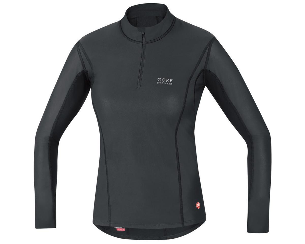 Gore Bike Wear Base Layer Windstopper Lady Turtleneck (Black) (S)