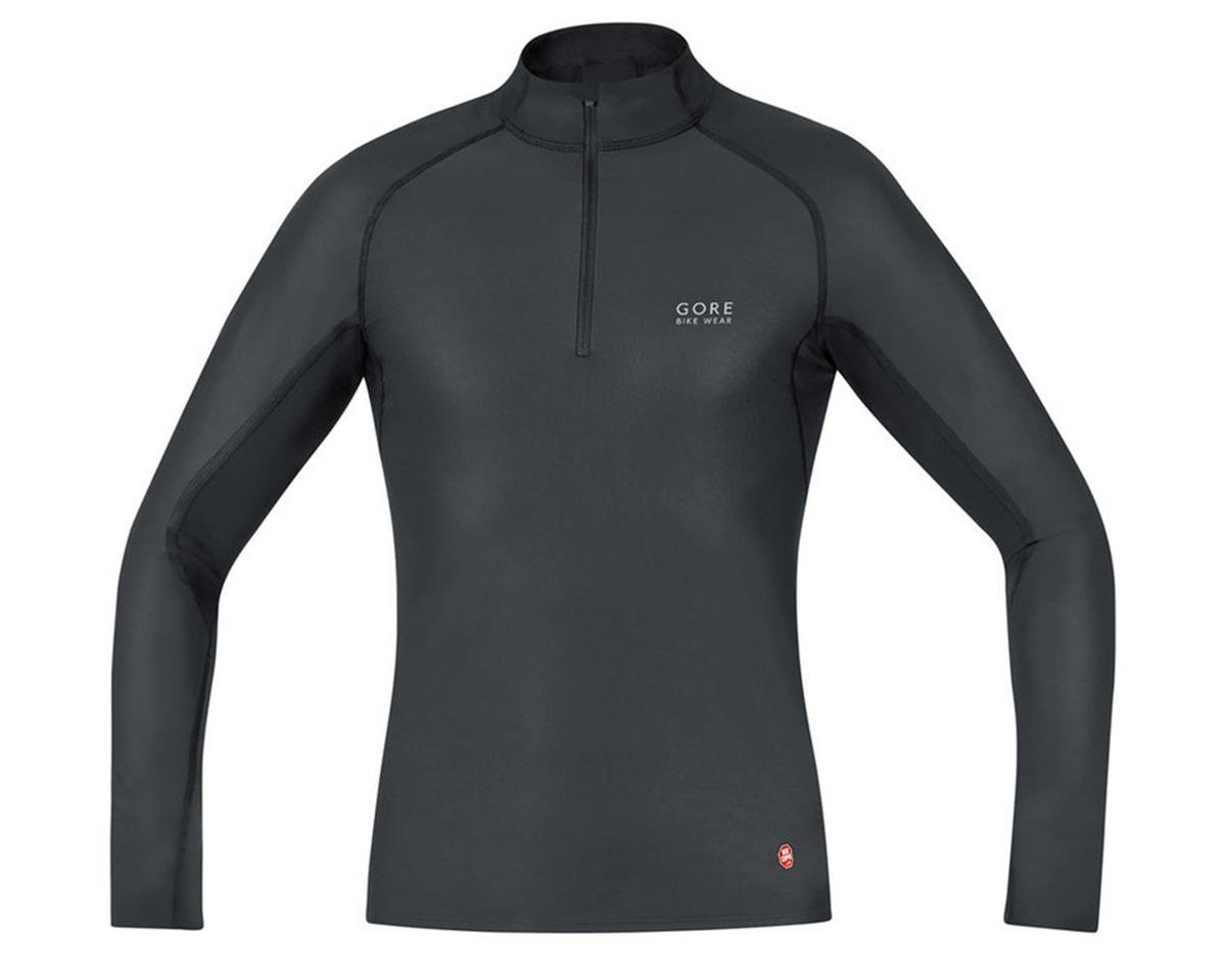 Gore Bike Wear Windstopper Base Layer Turtleneck (Black) (XL)