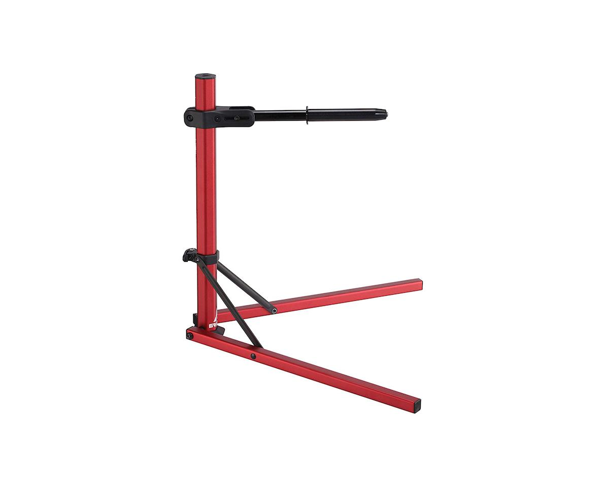 Folding Bike Stand (Red) (Hex Stand)