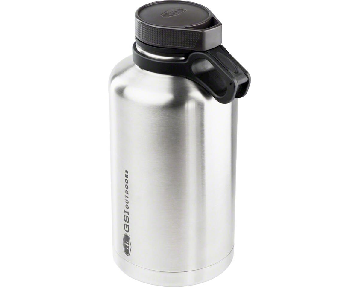 Gsi Outdoors Glacier Stainless Craft Growler, 64oz, Brushed