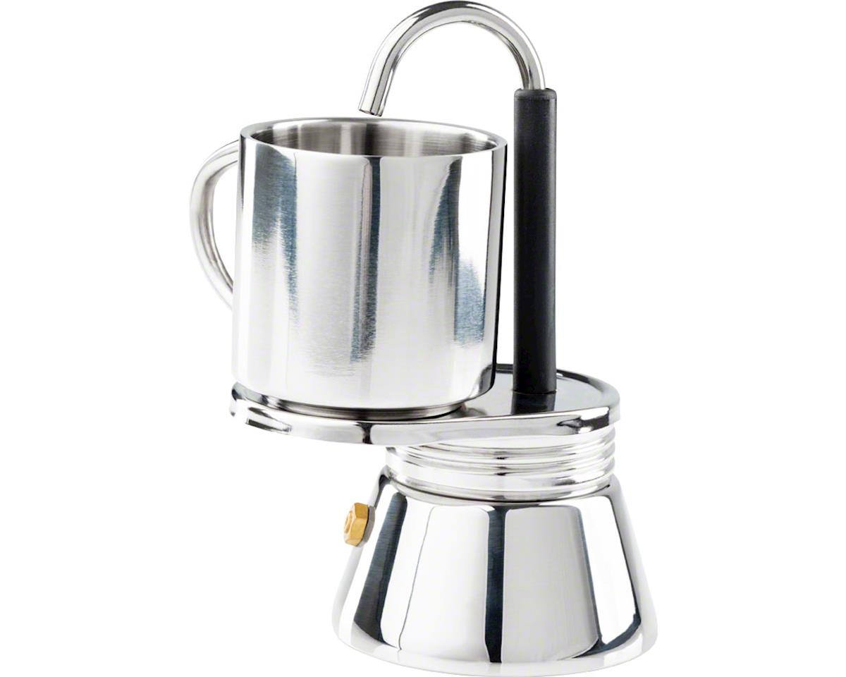 Gsi Outdoors 1 Cup Stainless Mini Campstove Espresso Maker Set
