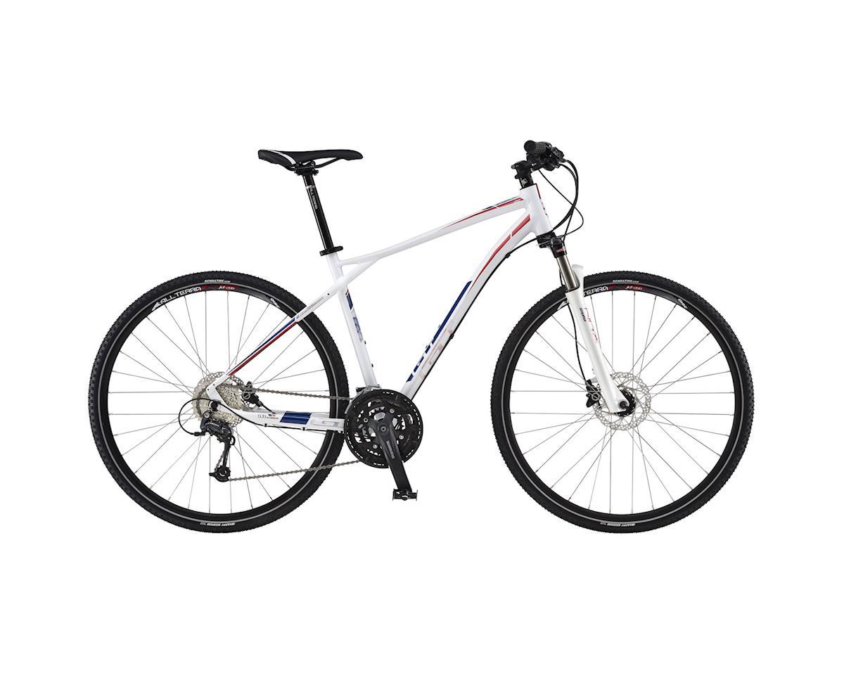 GT Transeo 2.0 Sport Hybrid Bike - 2016 (White) (Xsmall)