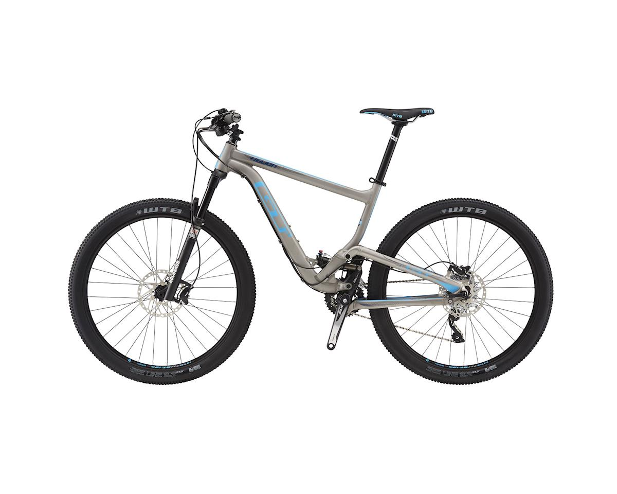 GT Helion Expert Full Suspension XC Mountain Bike - 2016 (Raw Metal) (Xsmall)