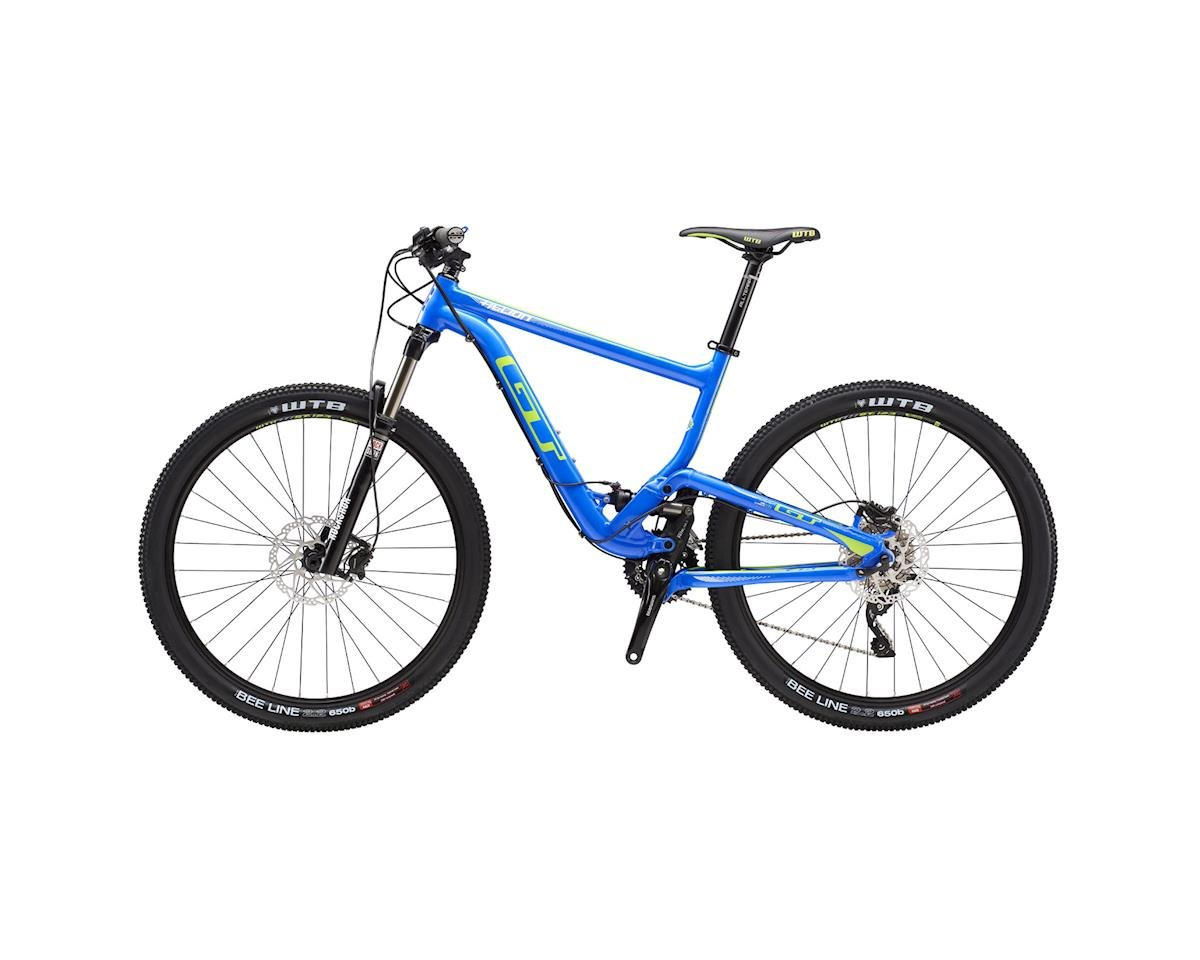 GT Helion Elite Full Suspension XC Mountain Bike - 2016 (Blue) (Xsmall)
