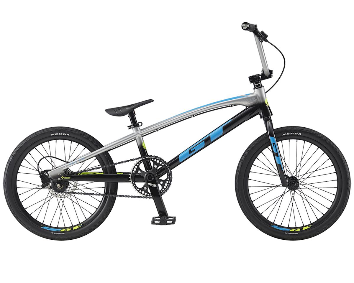 "GT 2020 Speed Series Pro BMX Bike (20.75"" Toptube) (Silver/Black Fade)"