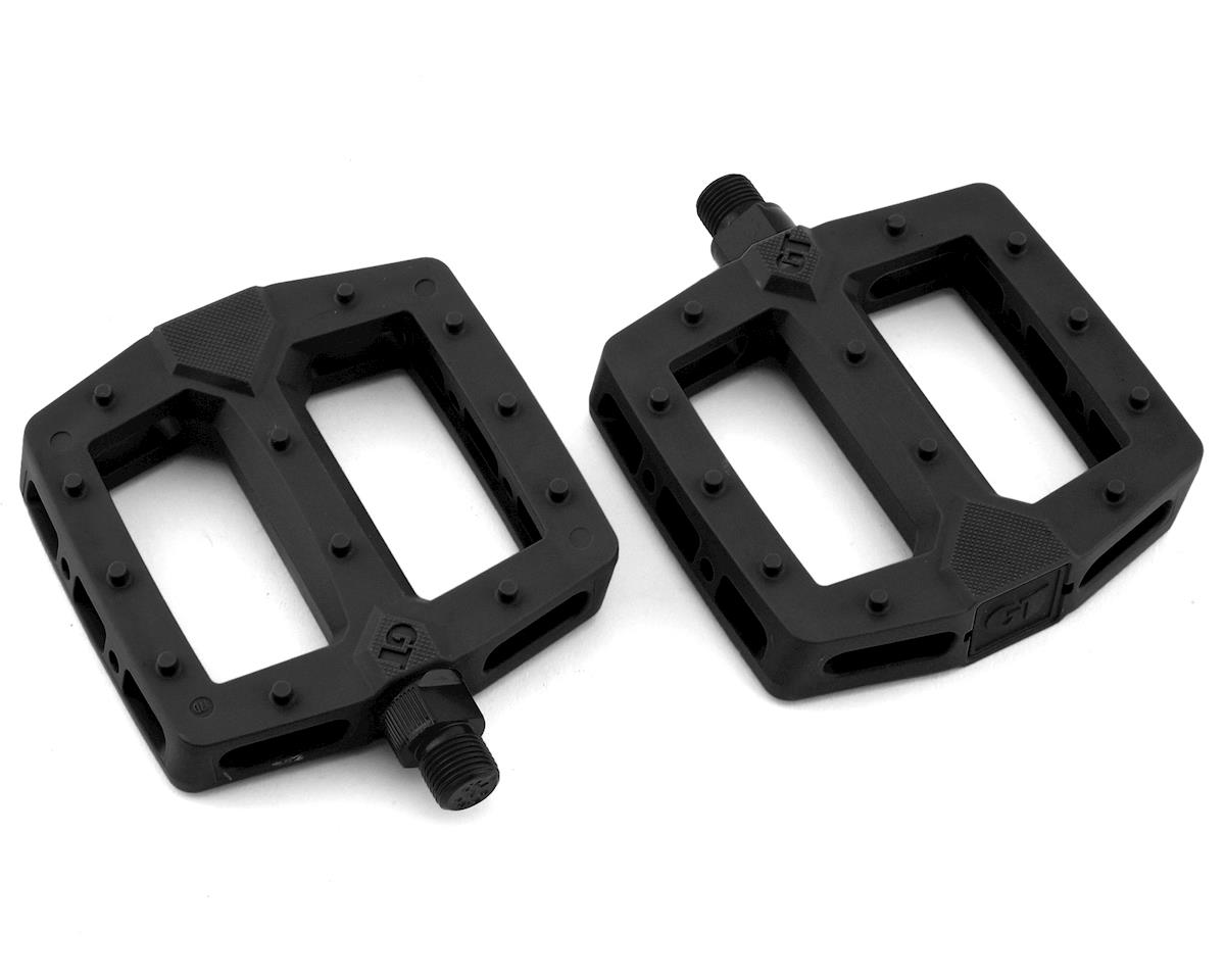 "GT PC Logo Pedals (Black) (9/16"")"