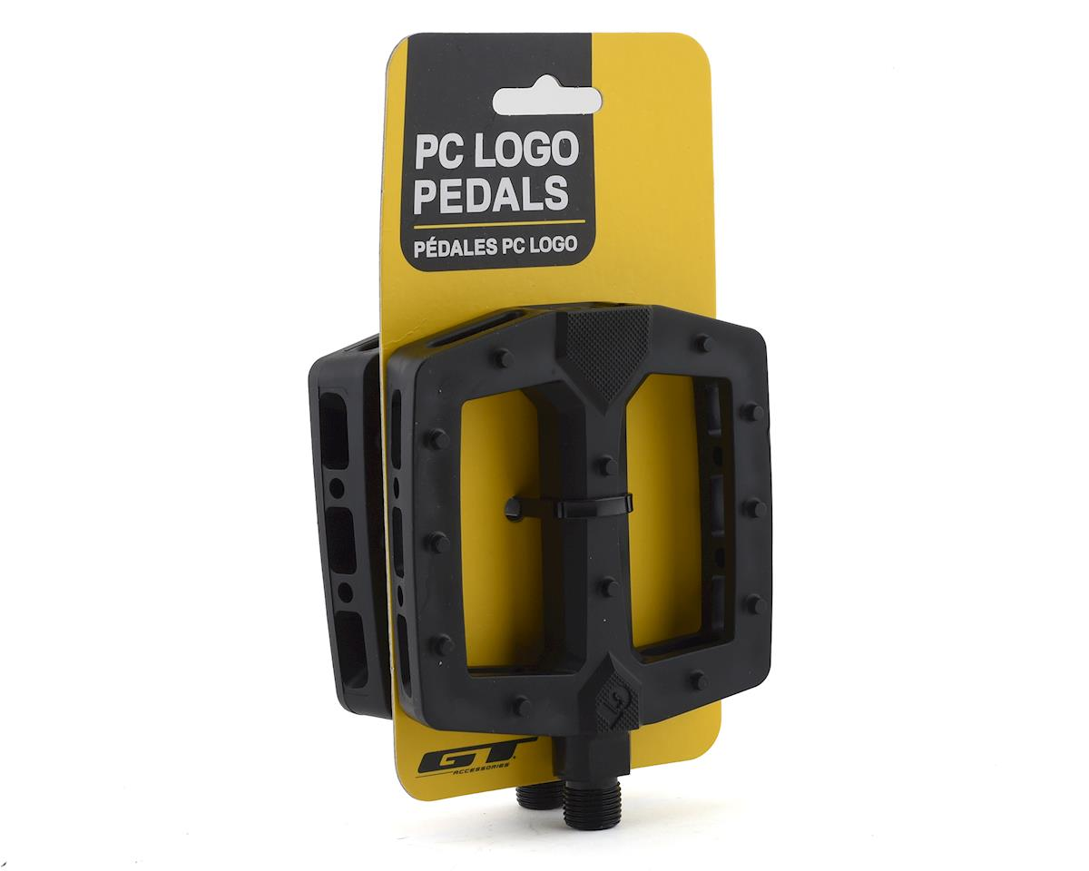 """Image 3 for GT PC Logo Pedals (Black) (9/16"""")"""