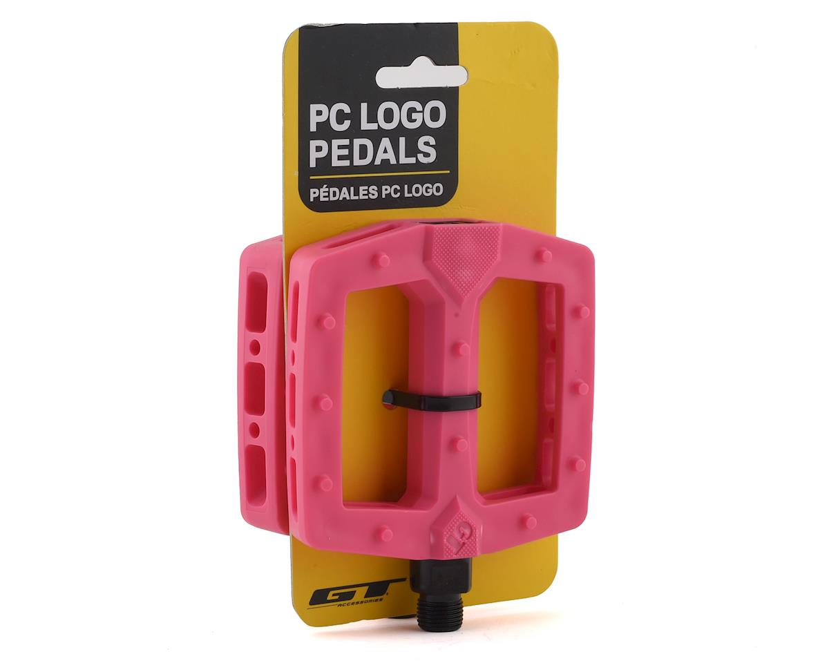 "Image 3 for GT PC Logo Pedals (Pink) (9/16"")"