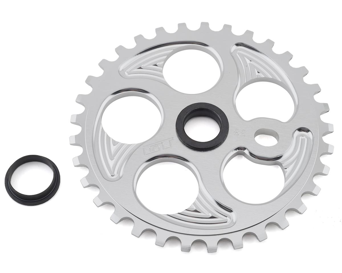 GT Overdrive Sprocket (Shiny Silver) (33T)