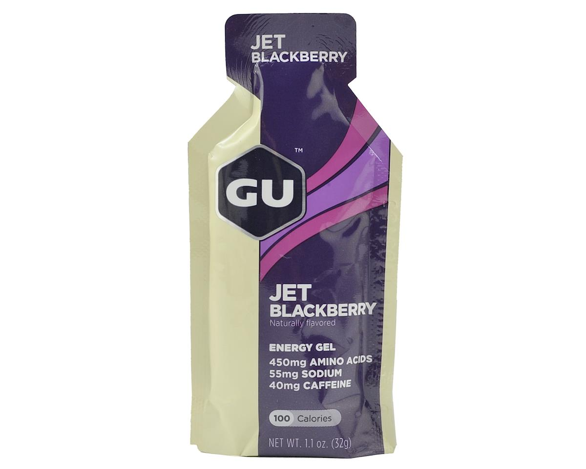 GU Energy Gel (Jet Blackberry) (24 1.1oz Packets)