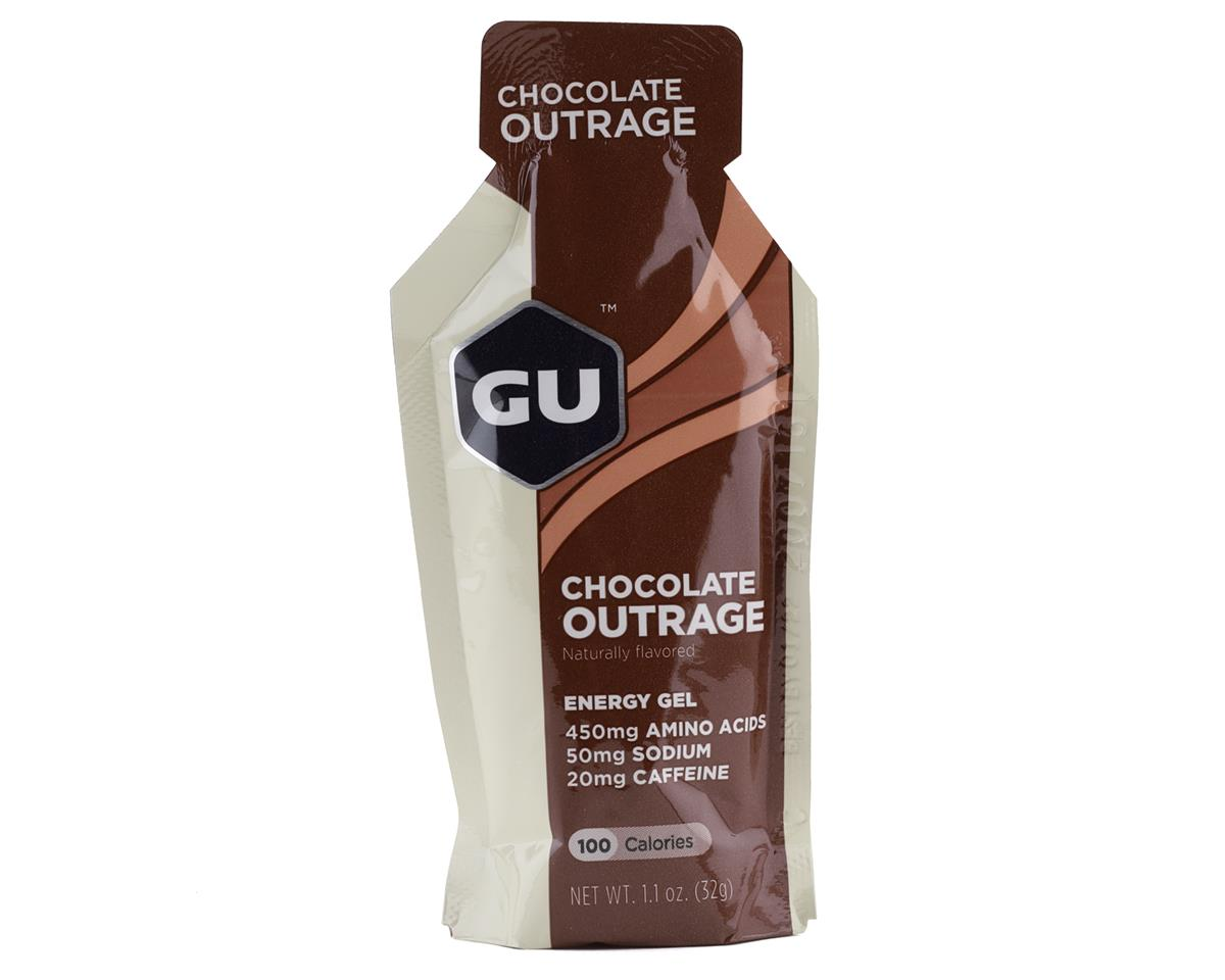 GU Energy Gel (Chocolate Outrage) (1 1.1oz Packet)