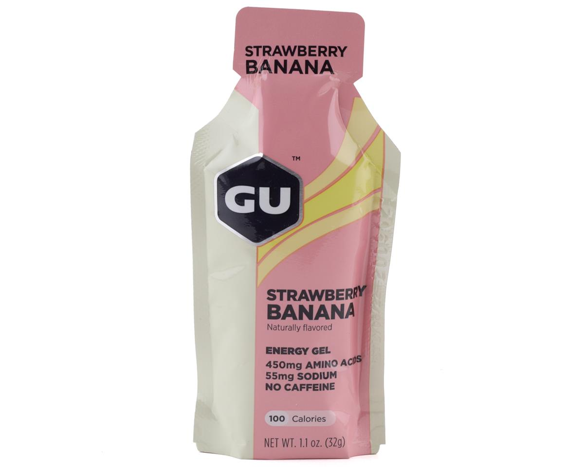 GU Energy Gel (Strawberry Banana) (1 1.1oz Packet)