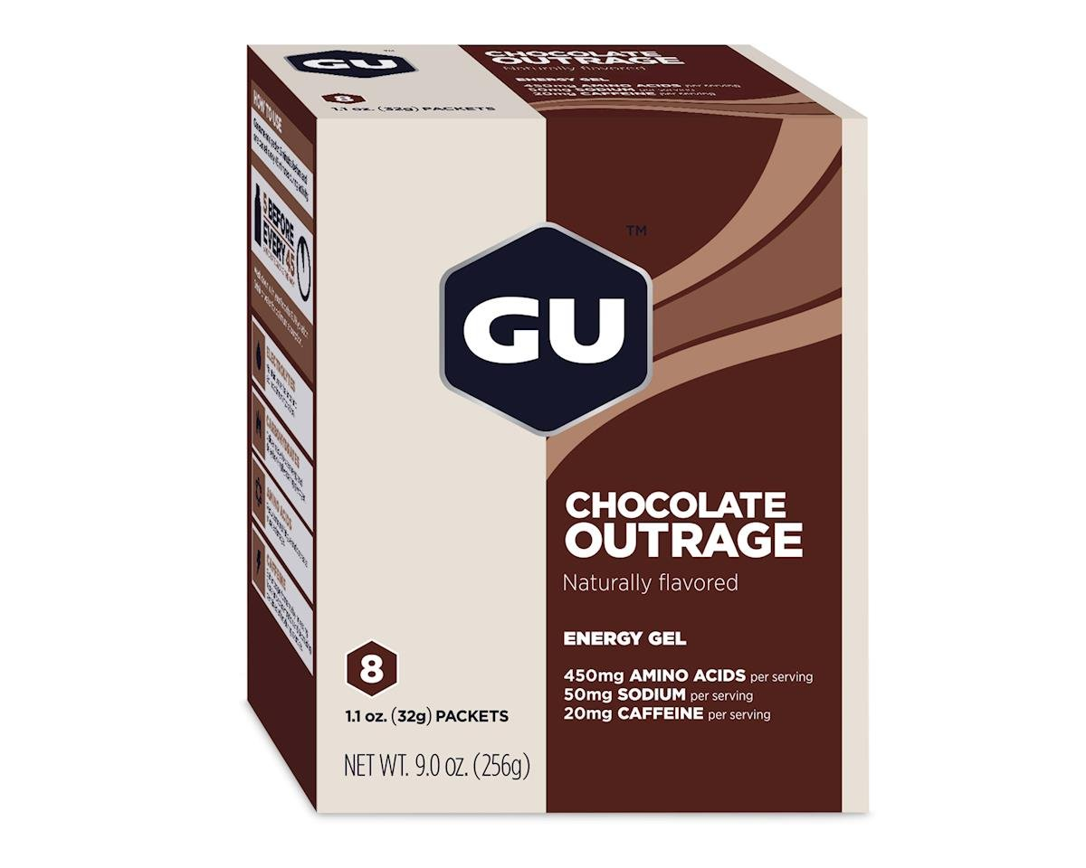 Image 2 for GU Energy Gel (Chocolate Outrage) (8 1.1oz Packets)