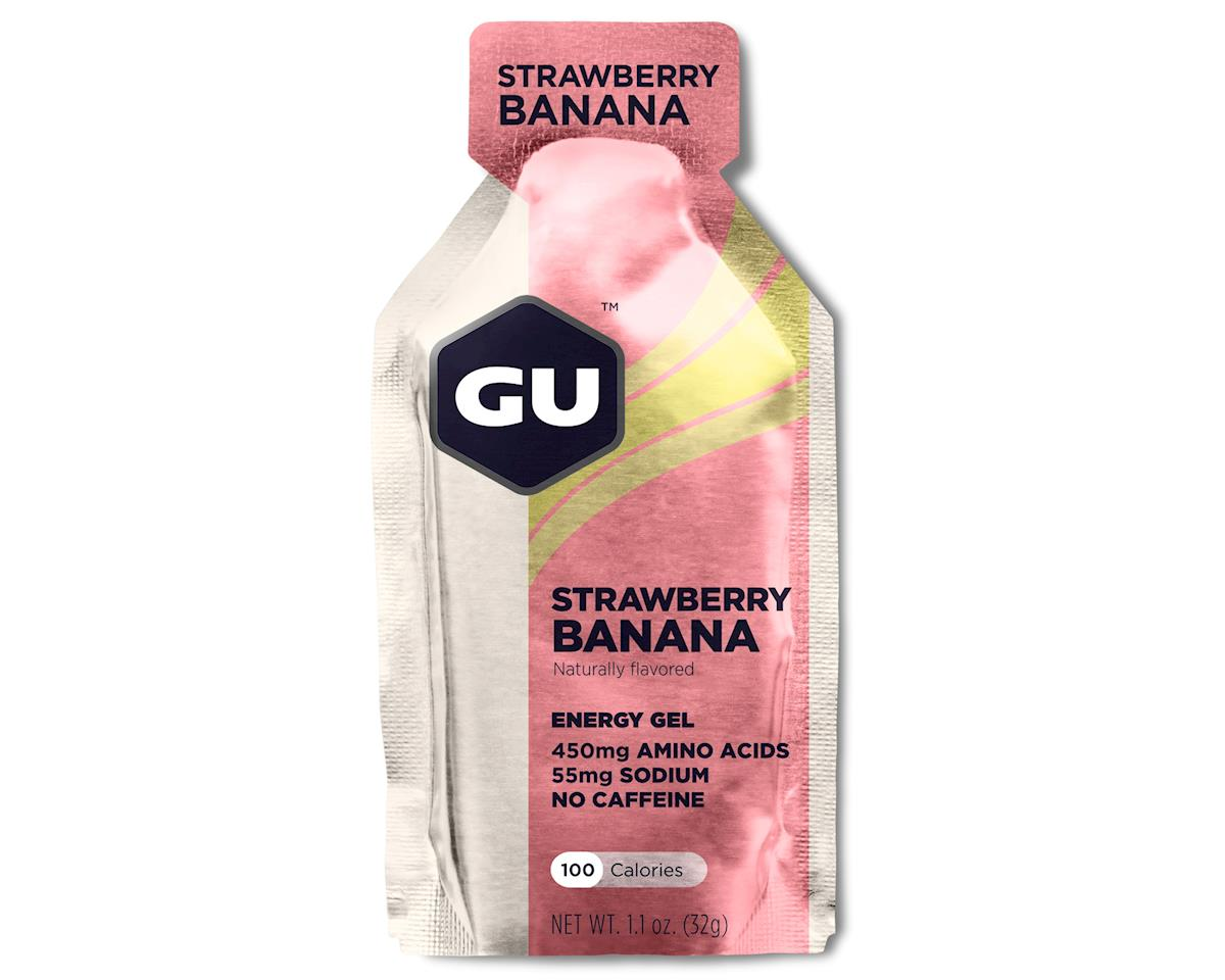 GU Energy Gel (Strawberry Banana) (8 1.1oz Packets)