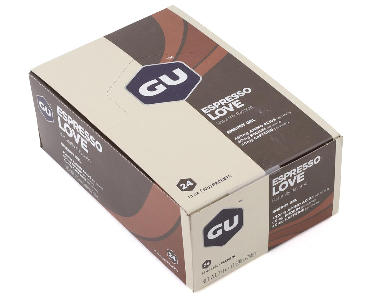 GU Energy Gel (Espresso Love) (24 1.1oz Packets)