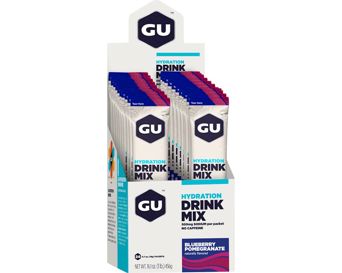 GU Hydration Drink Mix (Blueberry Pomegranate) (24 0.7oz Packets)
