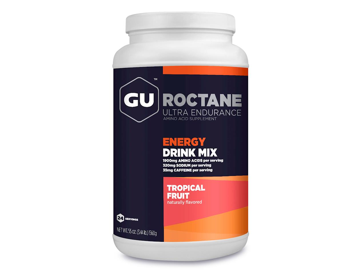 GU Roctane Energy Drink (Tropical Fruit) (24 Servings)