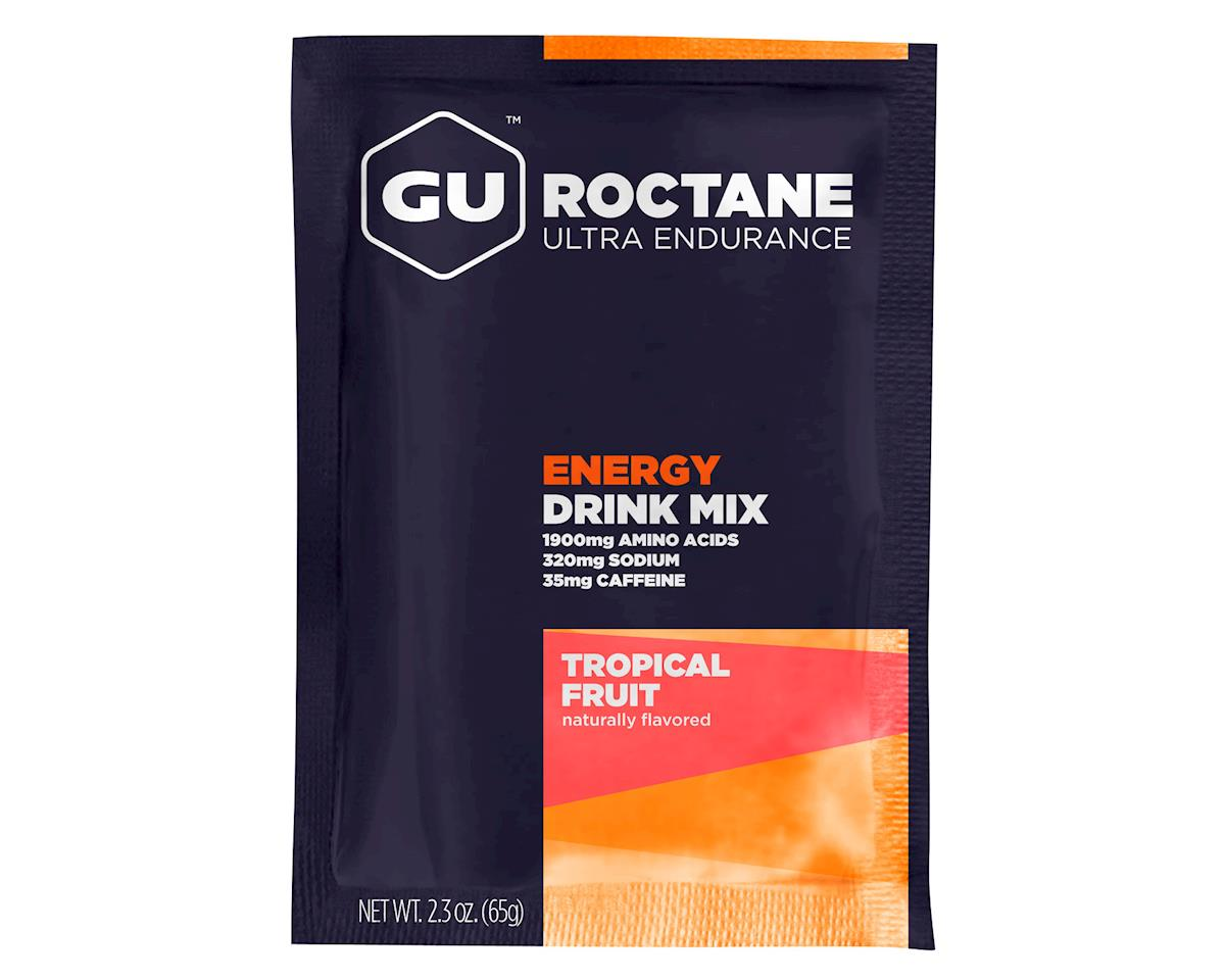 GU Roctane Energy Drink Mix (Tropical Fruit) (10 2.3oz Packets)
