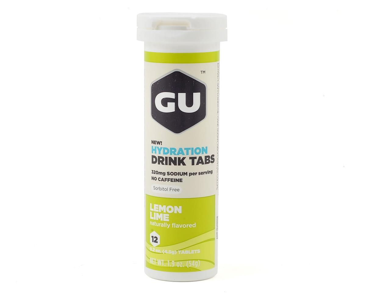 GU Hydration Drink Tabs (Lemon Lime) (8)