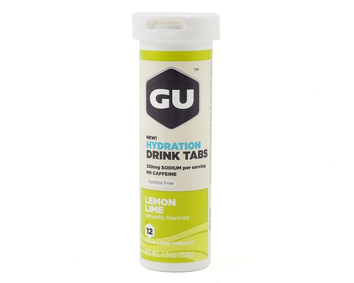 GU Brew Tabs (Lemon Lime) (8 Tubes)