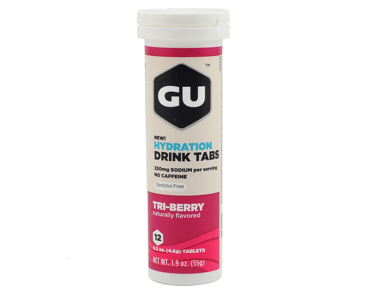 GU Brew Electrolyte Tabs (Tri Berry) (8)