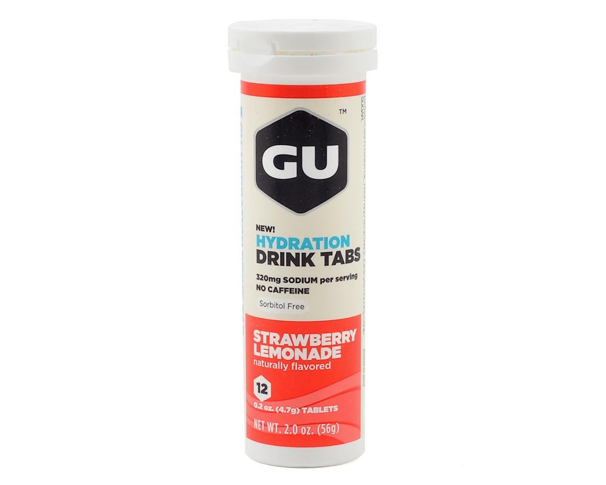 GU Hydration Drink Tablets (Strawberry Lemonade) (1 Tube)