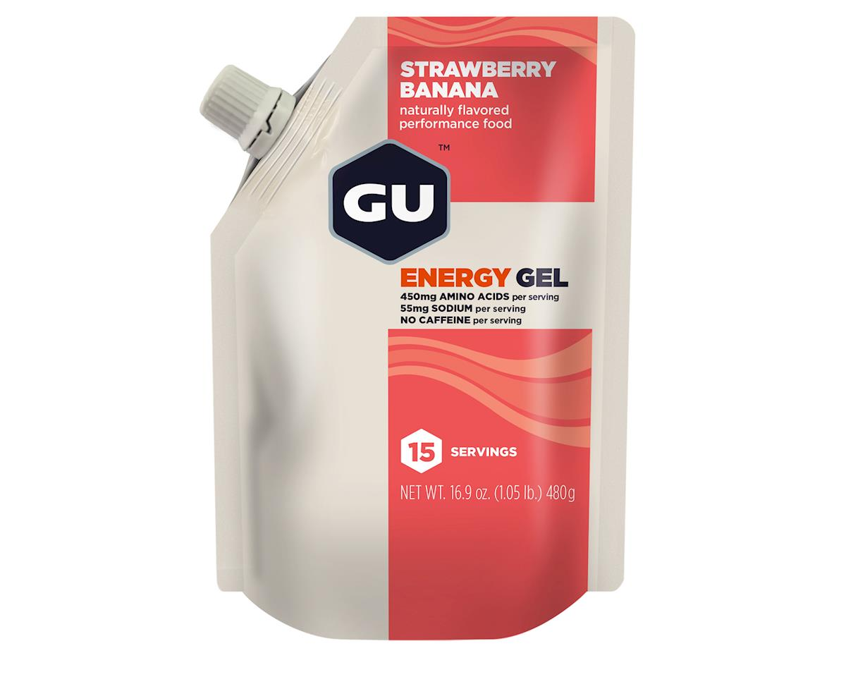 GU Energy Gel (Strawberry Banana) (1 16.9oz Packet)