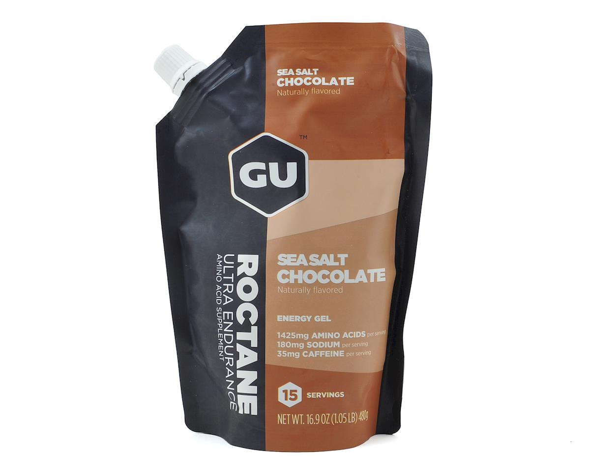 GU Roctane Gel (Sea Salt Chocolate) (15 Serving Pouch)