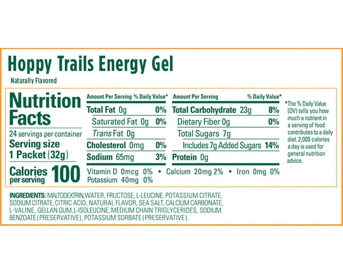 GU Energy Gel (Hoppy Trails) (24 1.1oz Packets)
