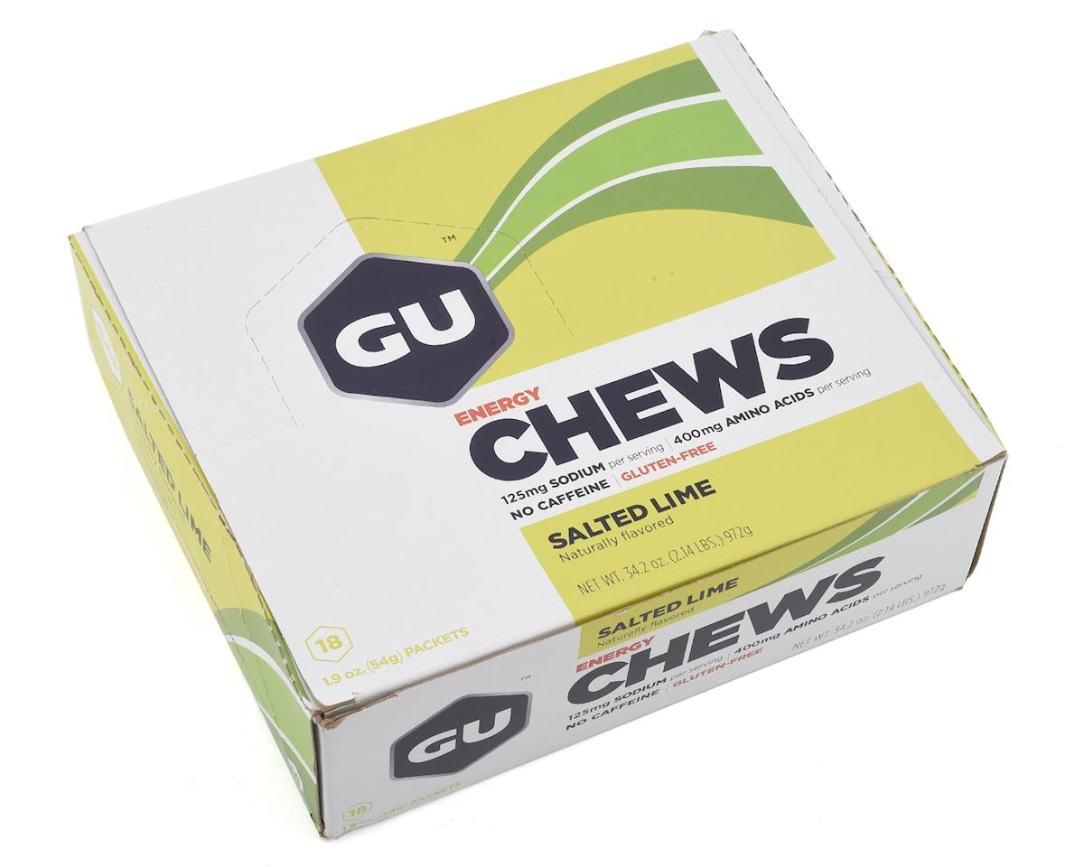 GU Energy Chews (Salted Lime) (18 1.9oz Packets)