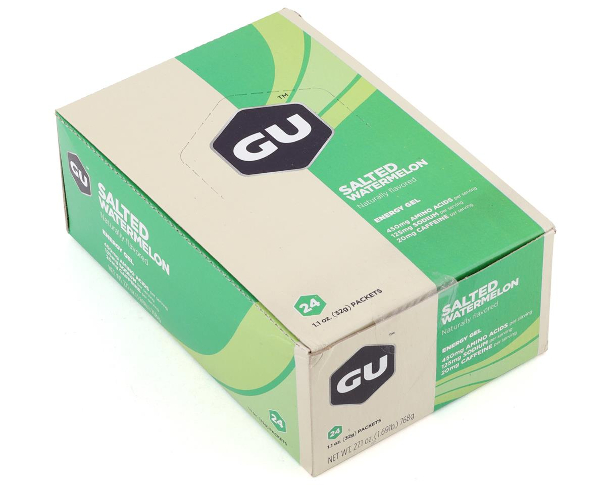 GU Energy Gel (Salted Watermelon) (24 1.1oz Packets)
